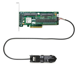 Smart Array P400/256Mb Supports RAID 0/1+0/5 (8 link: 2 int (SFF8484) x4 wide port connectors SAS) PCI-E 405132-B21