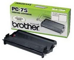 Brother Картридж с пленкой (1 ролик 47м) для Fax-555/ 645/ 685mc/ T-74/ T-76mc/ T-78/ 727/ 737/ T104/ T106 PC75