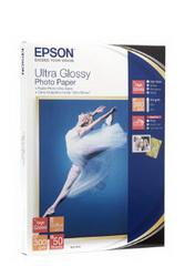 Высокоглянцевая фотобумага, 13x18 см, 50 листов, 300 г/м2 EPPS041944