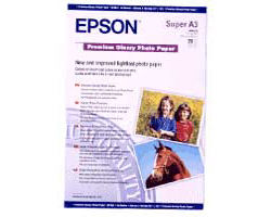 Высококачественная глянцевая фотобумага, A3+, 20 листов, 255 г/м2 EPPS041316
