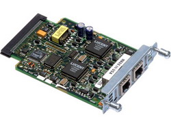 Two-port Voice Interface Card - FXO (Universal) VIC2-2FXO=