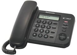 Телефон Panasonic KX-TS2356RUB (черный)