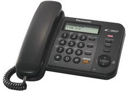 Телефон Panasonic KX-TS2358RUB (черный)