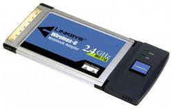 Адаптер Wireless-G PC Card for Notebook 802.11g (WPC54G-EU) WPC54G-EU