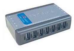 Коммутатор Dlink 7 портов USB 2.0 (DUB-H7) DUB-H7/E