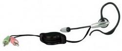 Наушники+микрофон SNet-105T компактная моно гарнитура, регулировка длины кабеля SNET-105T