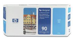 Голубая печатающая головка HP №90 с устройством очистки C5055A