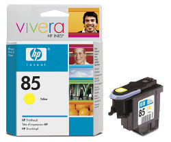 Желтая печатающая головка HP №85 C9422A
