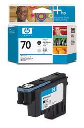 Печатающая головка HP №70, черный и светло-серый C9407A