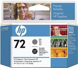 Печатающая головка HP №72, черный и серый C9380A