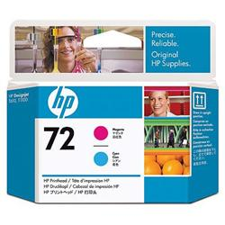 Печатающая головка HP №72, пурпурный и голубой C9383A