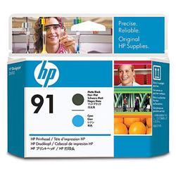 Печатающая головка HP №91, матово черный и голубой C9460A