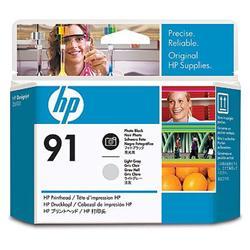 Печатающая головка HP №91, черный и светло-серый C9463A