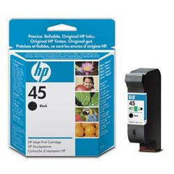 Картридж черный HP №45, 21 мл 51645GE