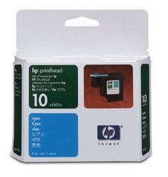 Голубая печатающая головка HP № 10 C4801A