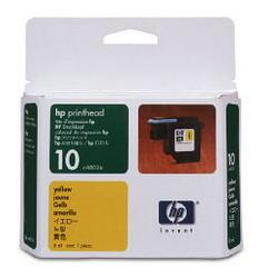 Желтая печатающая головка HP № 10 C4803A