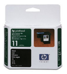 Черная печатающая головка HP № 11 C4810A