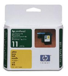 Желтая печатающая головка HP № 11 C4813A
