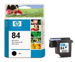 Черная печатающая головка HP №84 C5019A