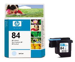 Светло-голубая печатающая головка HP №84 C5020A