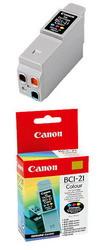 Чернильница цветная для принтеров BJC-5500/2000/2100/4100/4550/4650/4200/4300/4400//S100 BCI-21Сolor