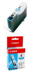Чернильница голубая для принтеров BJС-8200// S900/9000/800//i560/i865/i905D/950/965/9100 BCI-6C