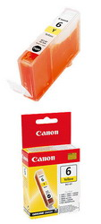 Чернильница желтая для принтеров BJС-8200// S900/9000/800//i560/i865/i905D/950/965/9100 BCI-6Y