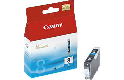 Чернильница голубая для принтеров PIXMA MP800/MP830/MP500/MP530/iP6600D/iP5200/ iP5200R/iP4200 CLI-8C