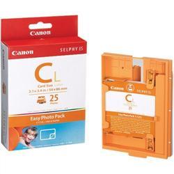 Картридж и бумага на наклейки для Selphy ES1, 25 страниц E-C25L