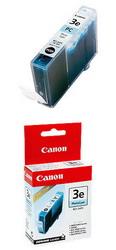 Фото чернильница голубая для принтеров BJС-3000/6000/6100/6200/6500//S400/450/4500 BCI-3PC