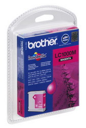 Картридж пурпурный для МФУ DCP-130C/330С//MFC-240C/5460CN Brother, 500 страниц LC1000M