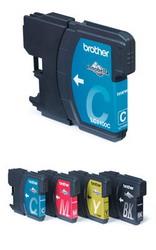 Картридж голубой для DCP-185C/385C, MFC490C/6890CN, 500 страниц LC1100C