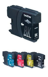 Картридж черный для DCP-185C/385C, MFC490C/6890CN, 900 страниц LC1100HYBK