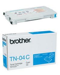 Тонер-картридж голубой для лазерных принтеров HL-2700CN и МФУ MFC-9420CN Brother, 6000 копий TN-04C