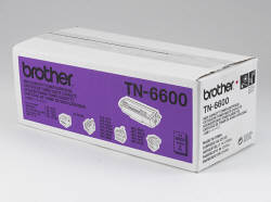 Тонер-картридж для лазерных принтеров HL-1030/12хх/14хх/Р2500 и факсов 4750/5750/8350P/8750P/9ххх Brother, 6000 копий TN-6600