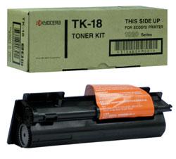Тонер-картридж Kyocera для FS-1018MFP/1020/1118MFP, 7200 страниц TK-18