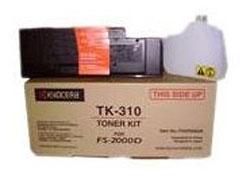 Тонер-картридж Kyocera для FS-2000D/3900DN/4000DN, 12000 страниц TK-310