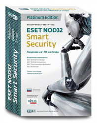 Eset NOD32 Smart Security Platinum Edition Russian