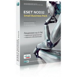Eset Антивирус NOD32 SMALL Business Pack Russian