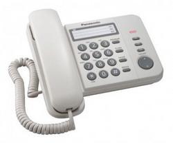 Телефон Panasonic KX-TS2352RUW (белый)