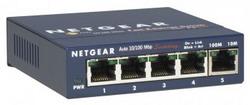 Коммутатор (FS105-200PES) 5-портовый 10/100BaseTx с внешним блоком питания FS105-200PES