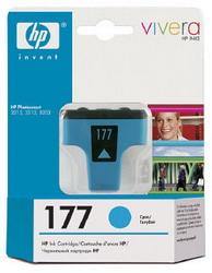 Струйный картридж HP 177 голубой C8771HE