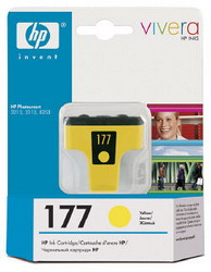 Струйный картридж HP 177 желтый C8773HE