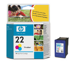 Струйный картридж HP 22 цветной