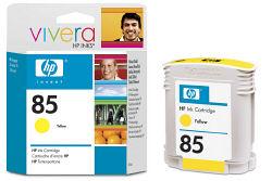 Струйный картридж HP 85 желтый