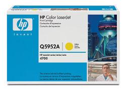 Лазерный картридж HP Q5952A желтый