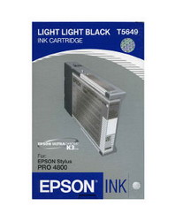Струйный картридж Epson EPT564900 светло-серый