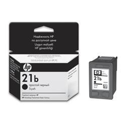 Струйный картридж HP 21b чёрный