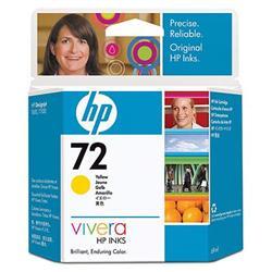 Струйный картридж HP 72 желтый