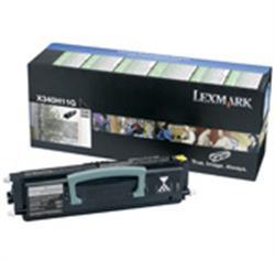 Тонер-картридж для принтерoв Lexmark X34x, 6000 страниц
